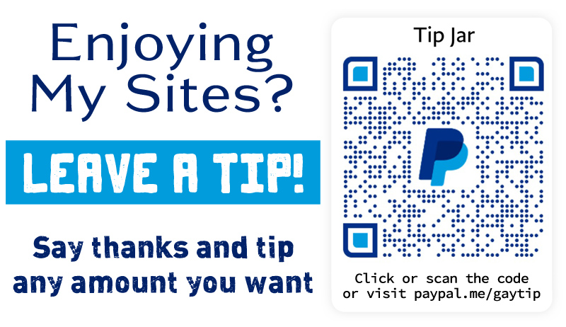 Leave a tip and keep my websites free!